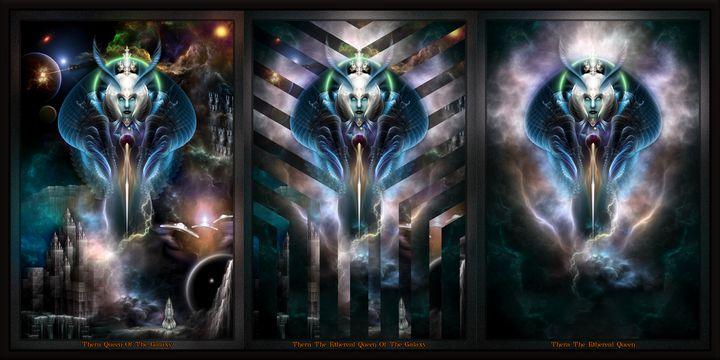 Thera Queen Fractal Trilogy 2XFrame - Xzendor7