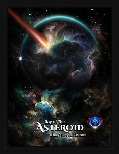 Day Of The Asteroid SciFi Fractal Ar