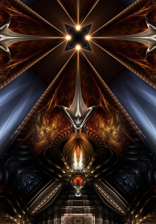 Arteknyia Fantasy Fractal Art - Xzendor7