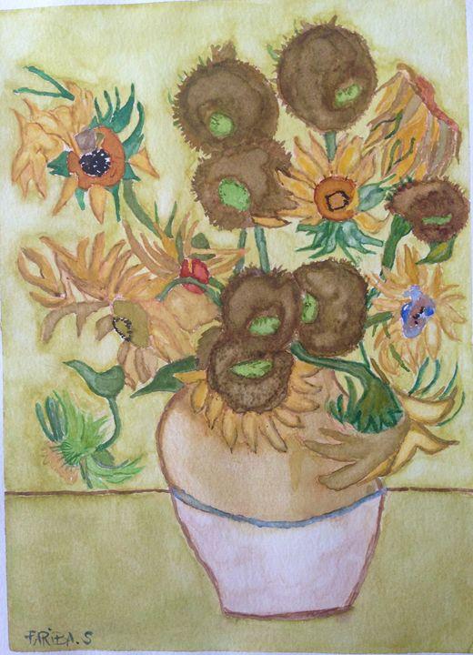 Van Gogh sunflowers - Fari