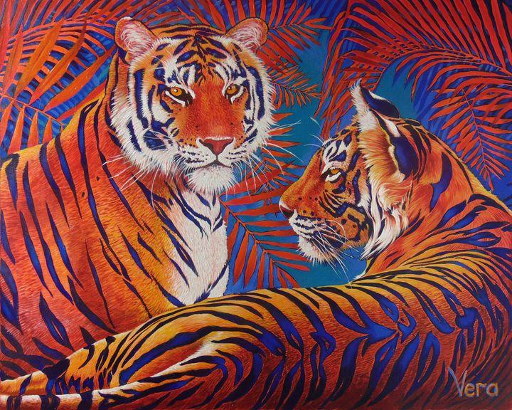 Tiger autumn - SergeyiVera