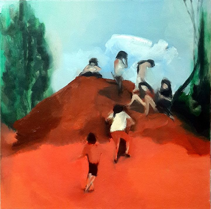 Red Hill - Israeli Art