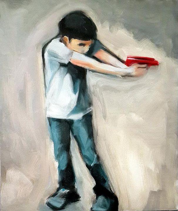 Red Gun - Israeli Art