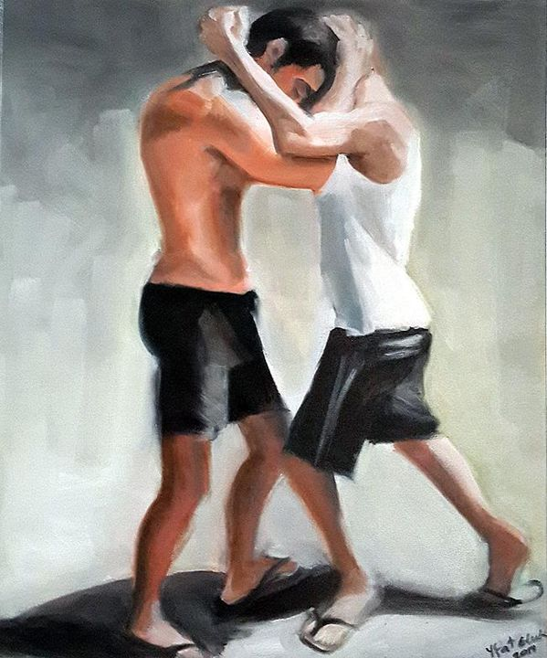 Brothers - Israeli Art