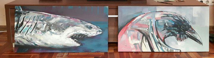 Predators - Art paints
