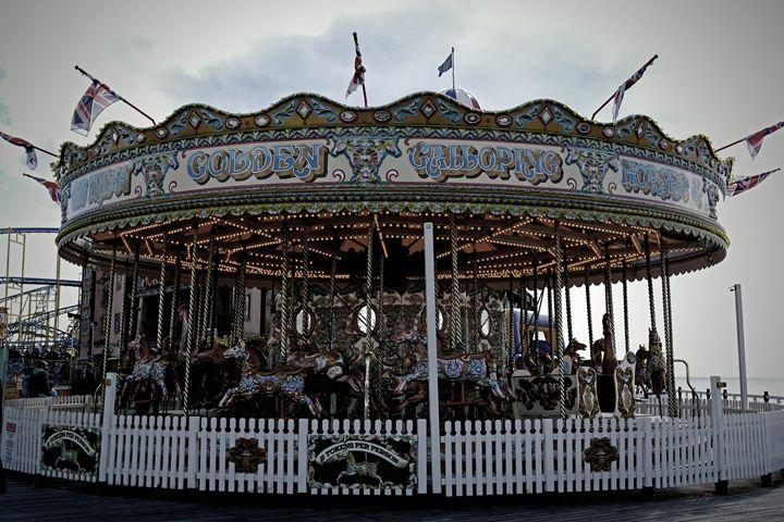 England / Brighton - Funfair - Wanderlust
