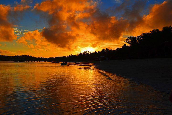 Fiji / Mana Island - Sunset - Wanderlust
