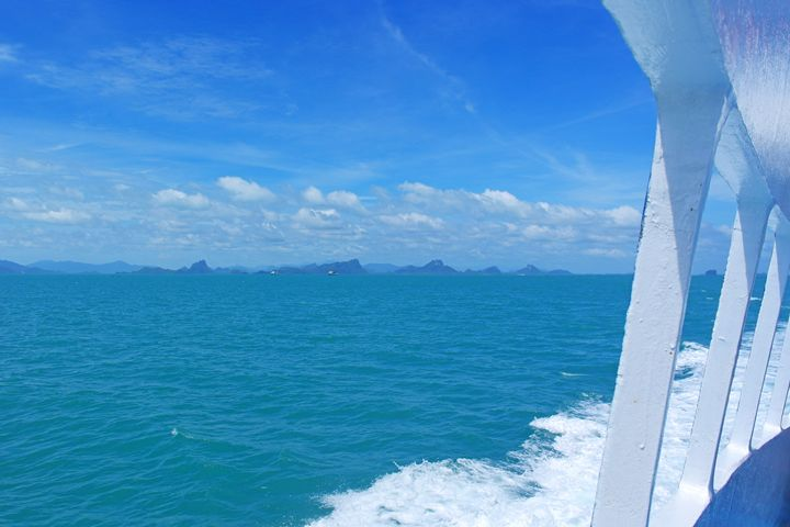 Thailand / Koh Phangan - I'm Blue - Wanderlust