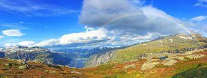 Norway / Odda - Fjord Rainbow
