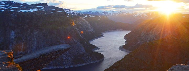 Norway / Odda - Trolltunga Sunset - Wanderlust