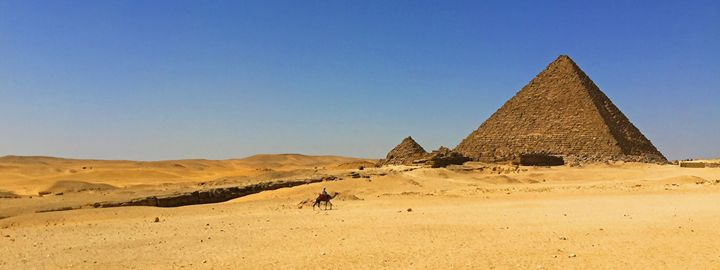 Egypt / Giza - Pyramid of Menkaure - Wanderlust