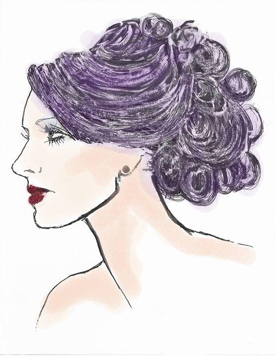 Fashion Illustration - Robert Shane Koralesky