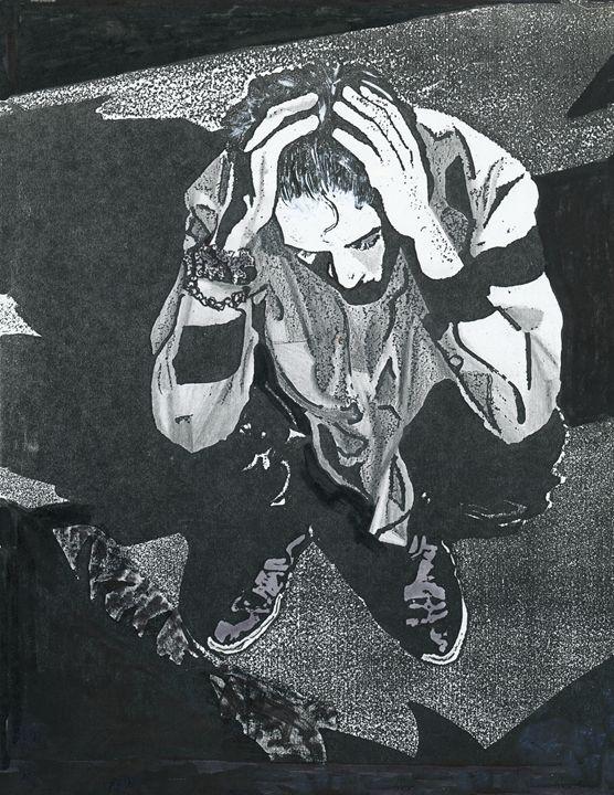 Exceeding Headache Man - Robert Shane Koralesky