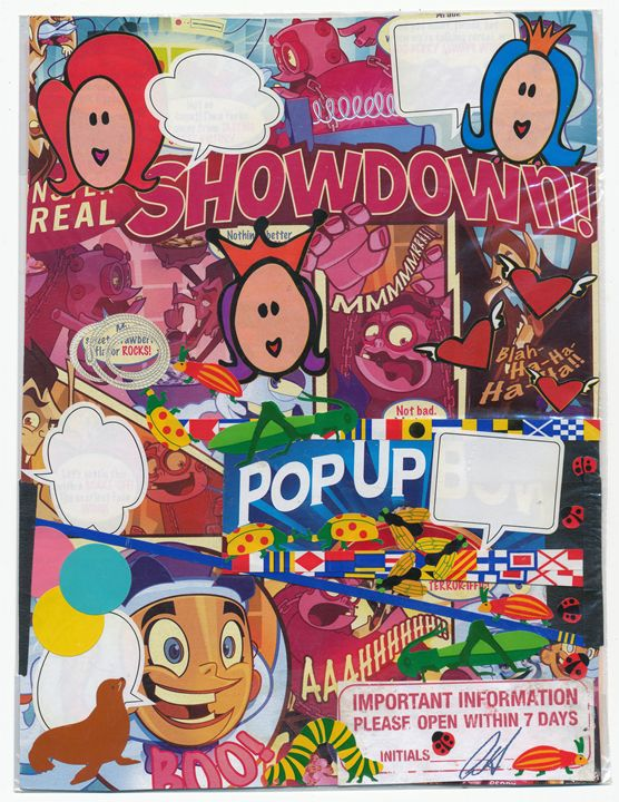 Showdown-Pop Up - Robert Shane Koralesky