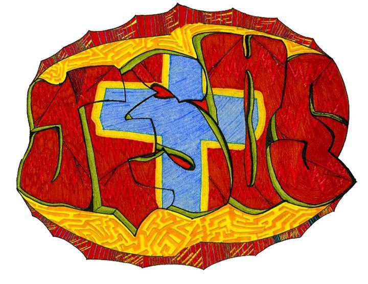 Jesus Graffiti - Chris. S. WooT!en