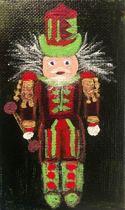 Nutcracker Christmas Ornament - Kristen Light Gallery