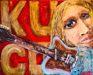 Kurt Cobain & Guitar