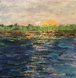 Sunset at Lake lanier