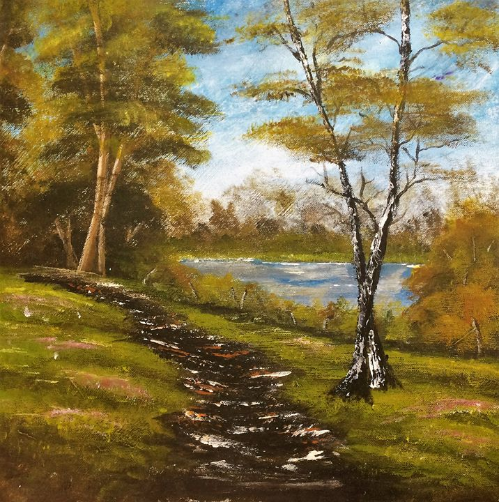 Worn Woodland Path - Danielle DePaiva