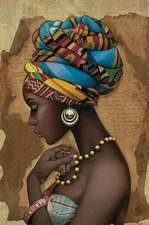 African art - Shades of black