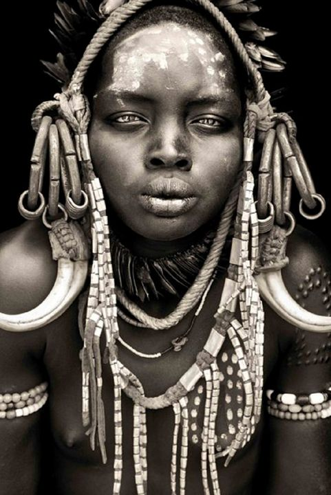 African Faces - Shades of black