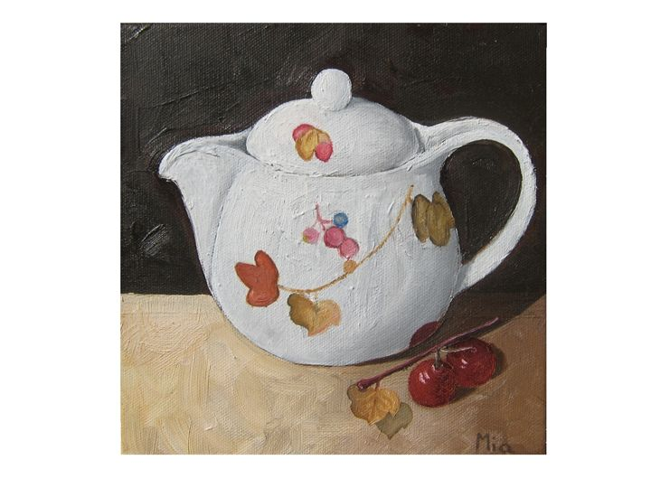 Tea Pot - Rainbow Box