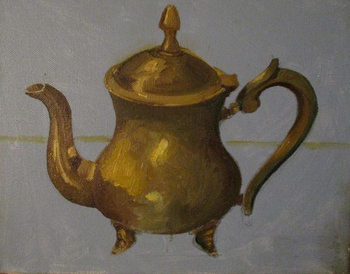 Tea pot - Rainbow Box