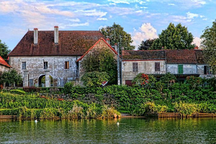 Along the river Somme - tom prendergast fine art images