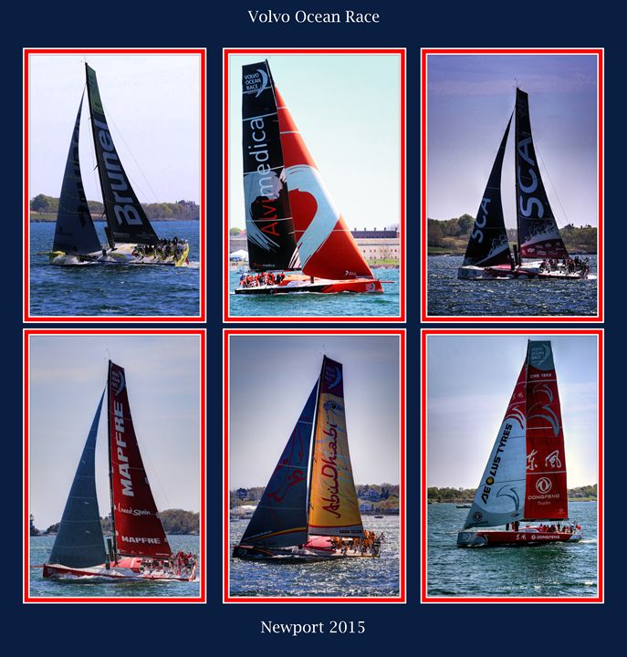 The Volvo Ocean Race Newport RI - tom prendergast fine art images