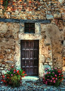 A door in France - tom prendergast fine art images