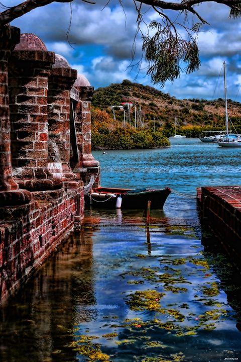 Nelson's dockyard Antiqua - tom prendergast fine art images