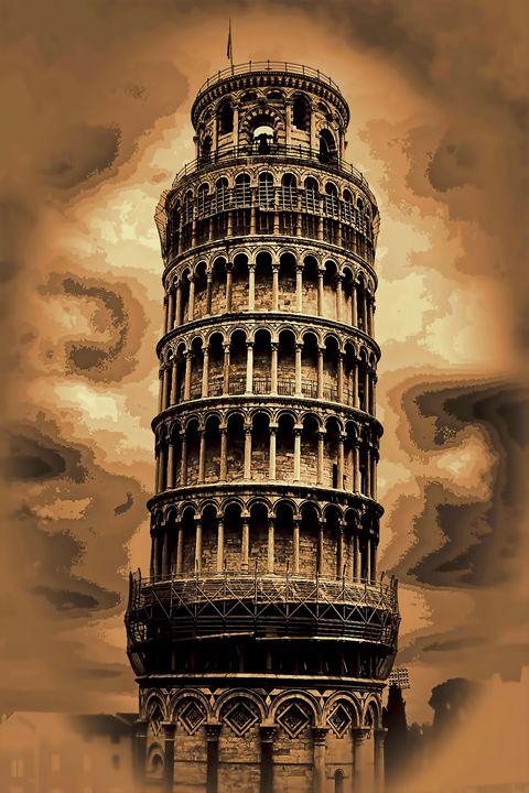 The Leaning Tower of Pisa - tom prendergast fine art images