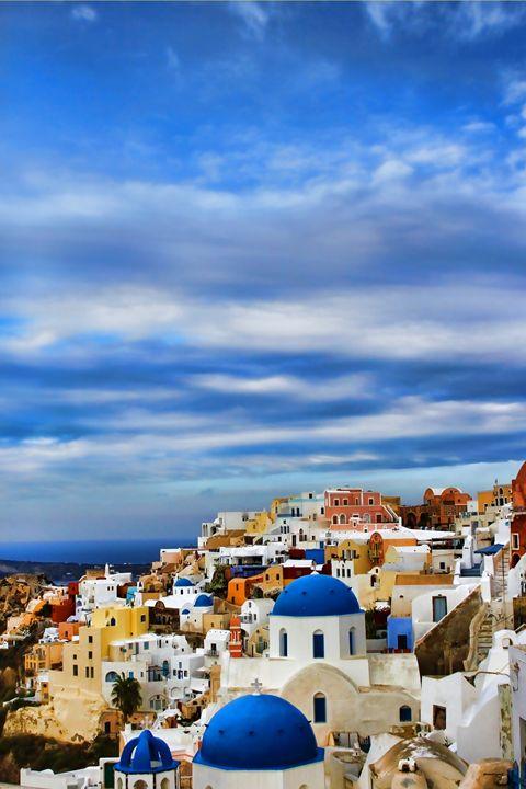 Oia Greece - tom prendergast fine art images