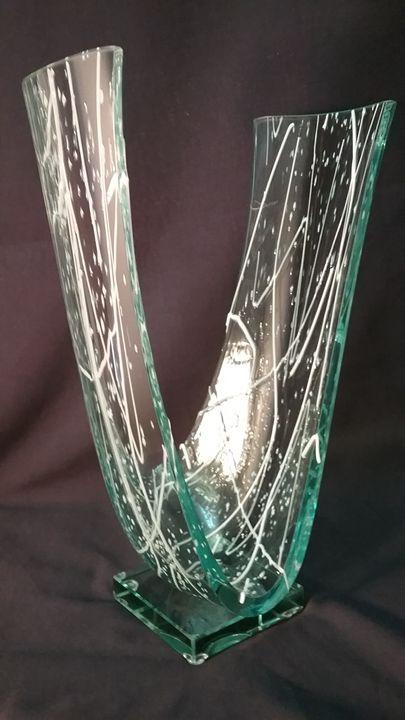 Glass Art Centerpiece - MyStyle
