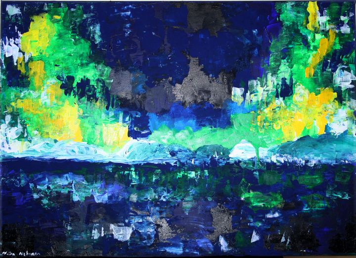 Aurora Virida /Green Northern Lights - Fairychamber