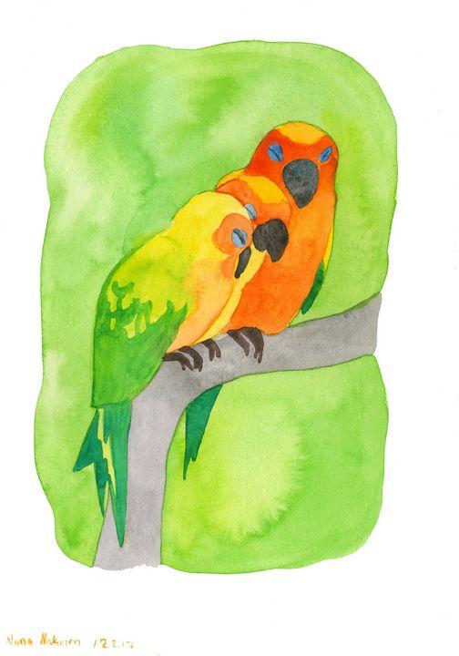 Three Parrots - Fairychamber