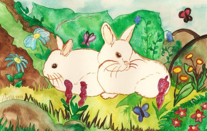 Garden Bunnies - Fairychamber