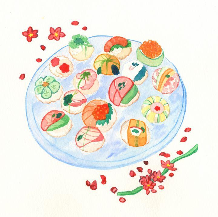 Sushi Plate - Fairychamber