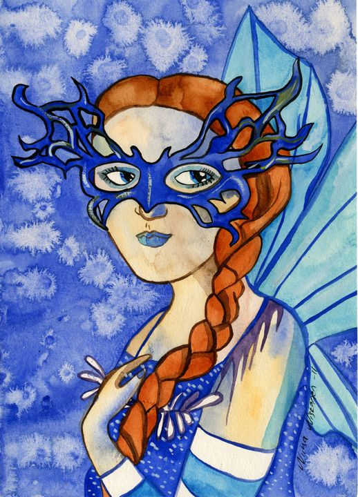 Shades of Blue Fairy - Fairychamber