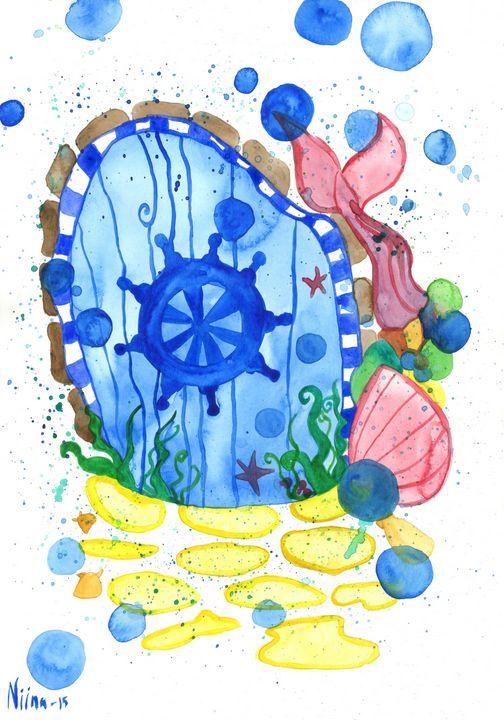 Mermaid Door - Fairychamber