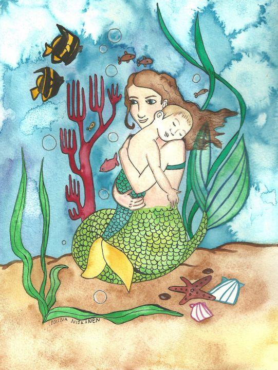 Mermother and Merchild - Fairychamber