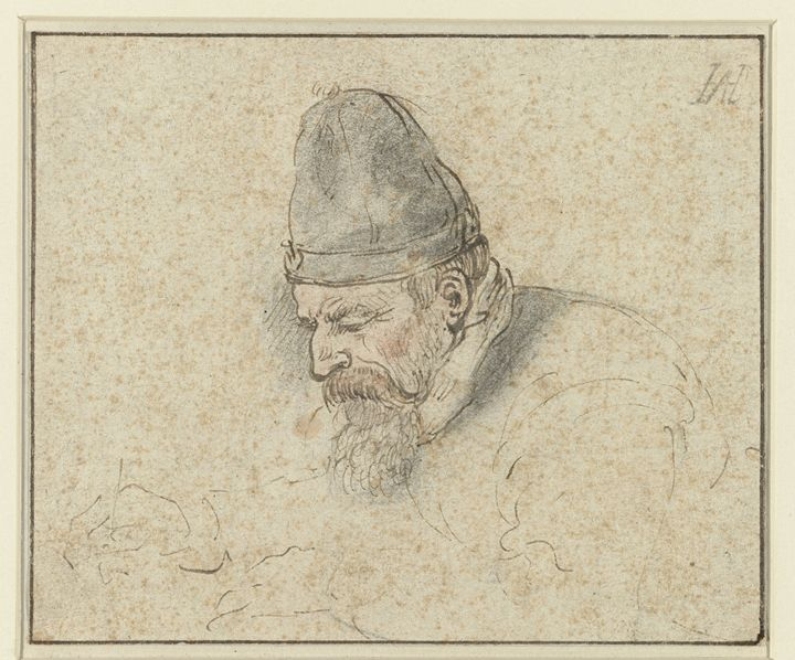 Portrait of an Old Man - Celestial Images