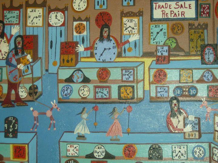 clocks - D.W ART