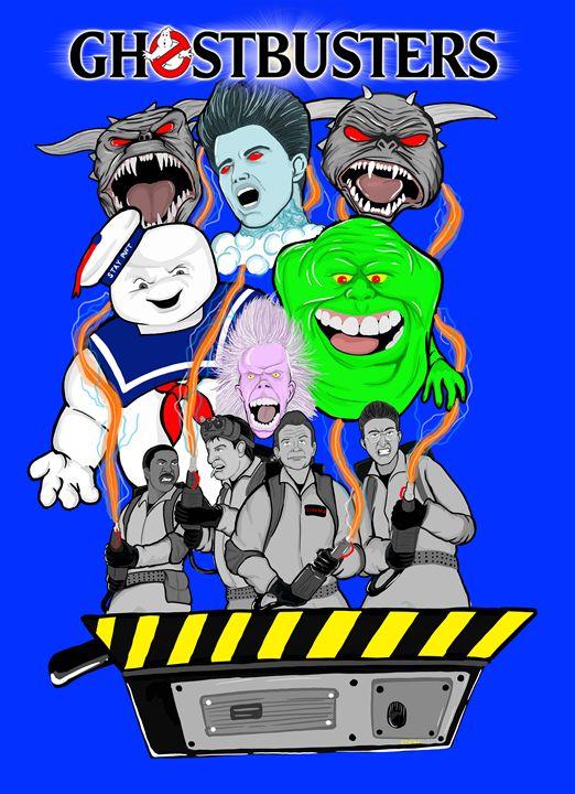 ghostbusters villain focus -  Niles2209