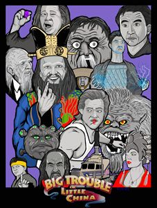 Big Trouble in little China collage