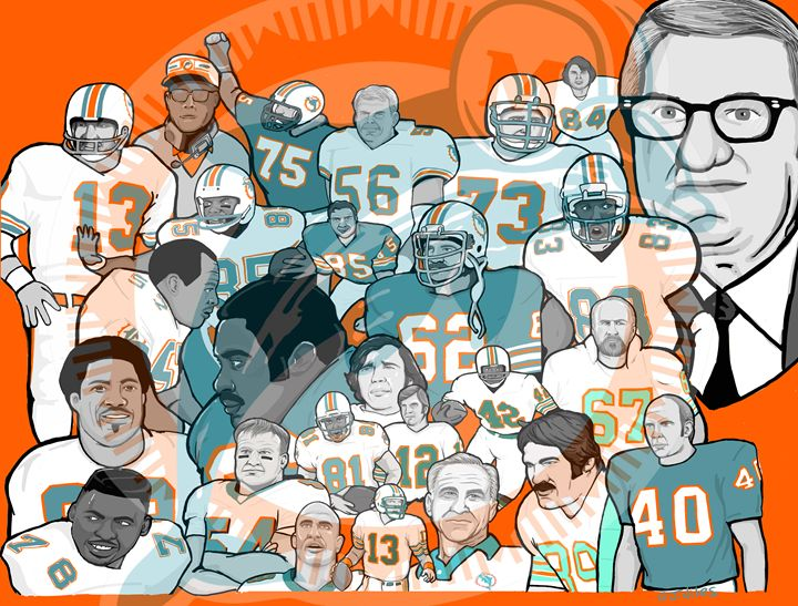 miami dolphins ring of honor -  Niles2209