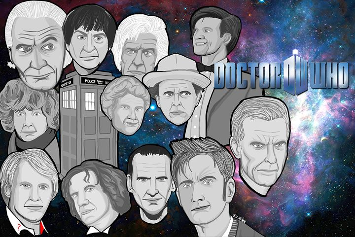 Doctor Who collage art -  Niles2209