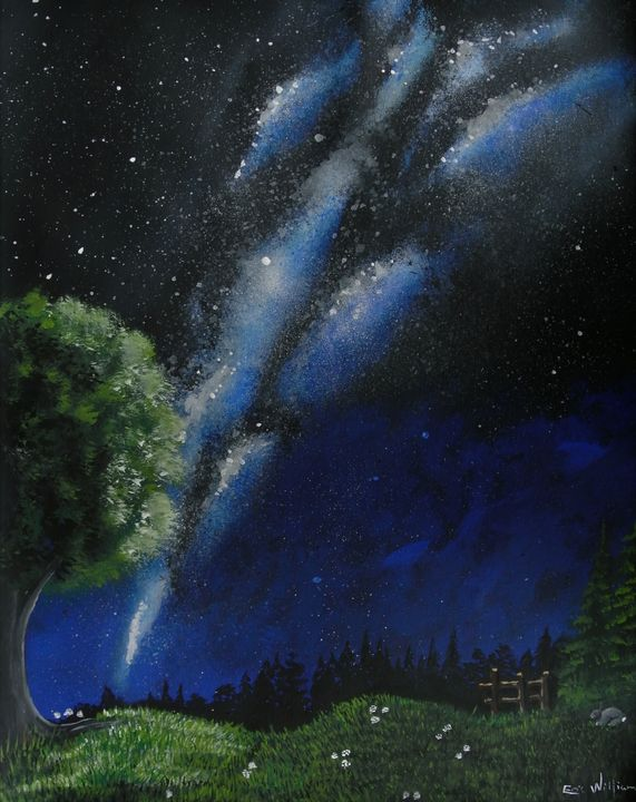 NIGHT TIME MAGIC - Eric William.S