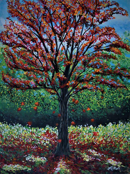 RED AUTUMN - Eric William.S