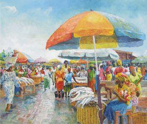 Fish Market at Makoko